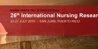 26th International Nursing Research Congress